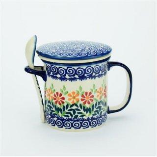 Teetasse Mit Sieb teetasse mit sieb löffel und deckel 18 90 die bunzlau